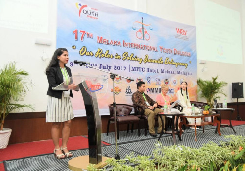 17th Melaka International Youth Dialogue: Adoption of declaration on solving juvenile delinquency